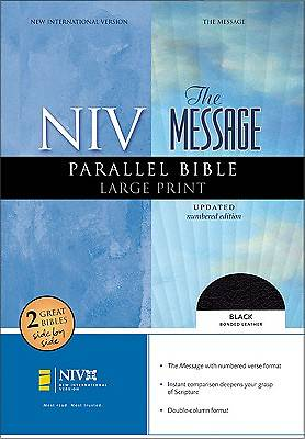 New International Version/The Message Parallel Bible Large Print Edition
