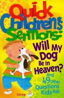 Picture of Will My Dog Be in Heaven?