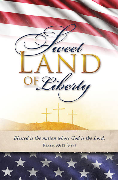 Sweet Land of Liberty Patriotic Bulletin