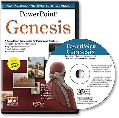 Picture of Genesis Time Line PowerPoint