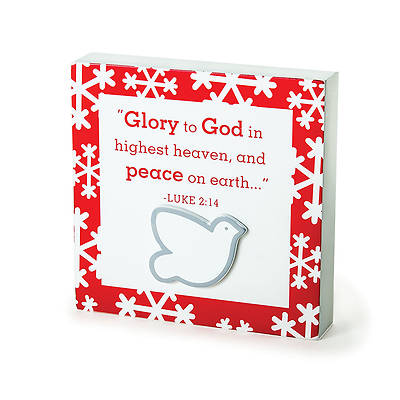 Glory to God Plaque