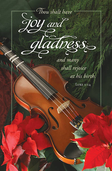 Picture of Joy and Gladness Christmas Regular Size Bulletin