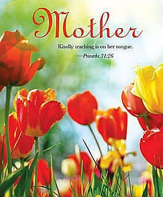 Tulips Mothers Day Bulletin 2012, Large Size (Package of 50)