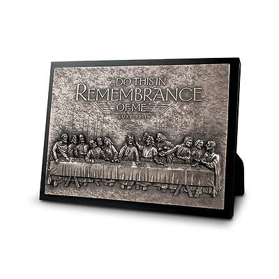 Moments of Faith Sculpture Plaques - Last Supper