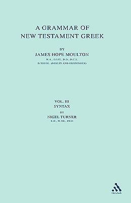Grammar of New Testament Greek