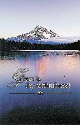 Great Is Thy Faithfulness Bulletin (Pkg of 50)