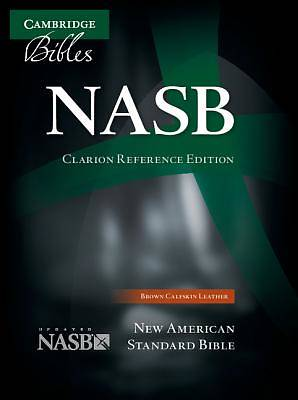 NASB Clarion Reference Brown Calfskin Ns485