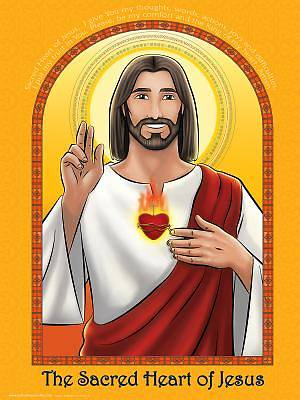 Picture of Poster - Sacred Heart of Jesus