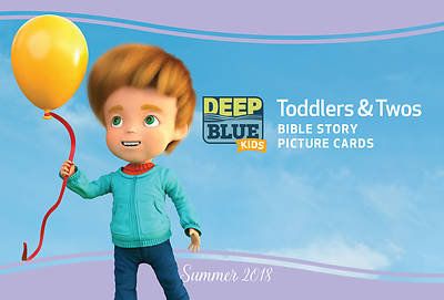 Deep Blue Kids Toddlers & Twos Bible Story Picture Cards Summer 2018