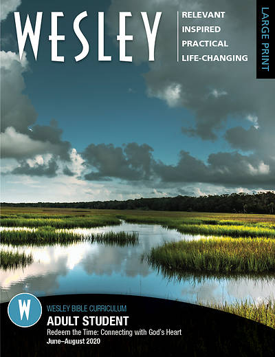 Picture of Wesley Adult Bible Student Large Print Summer 2020
