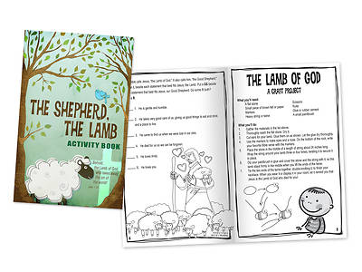 The Shepherd, The Lamb Activity Book (Pack of 24)