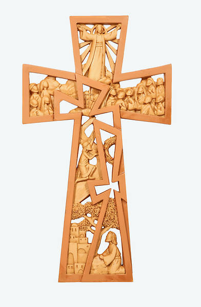 Pierced Wall Cross