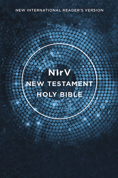 NIRV, Outreach New Testament, Paperback, Blue