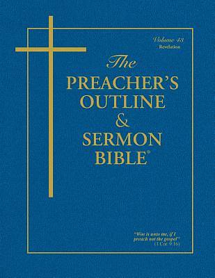 Picture of Preacher's Outline & Sermon Bible-KJV-Revelation