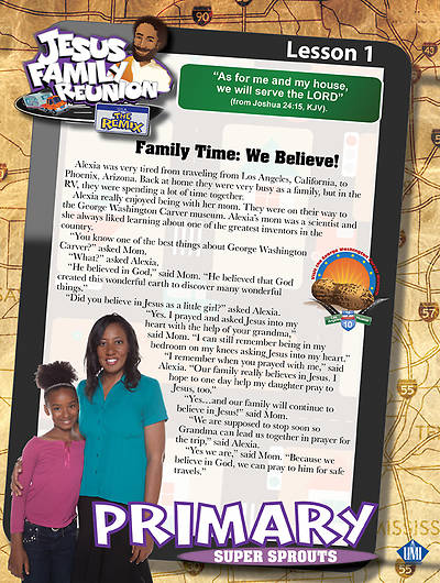 UMI VBS 2013 Jesus Family Reunion: The Remix Primary Student Folders