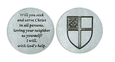 Picture of Episcopal Shield Pocket Token
