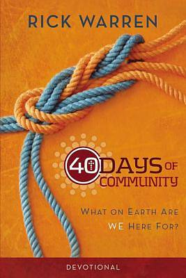 Picture of 40 Days of Community Devotional