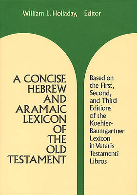 Concise Hebrew and Aramaic Lexicon of the Old Testament