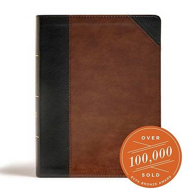 Picture of CSB Tony Evans Study Bible, Black/Brown Leathertouch