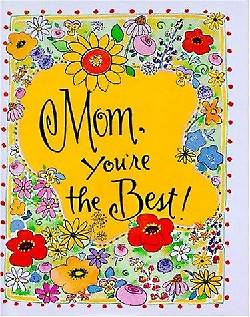 Picture of Mom, You're the Best [With Ribbon with 24k Gold-Plated Charm]