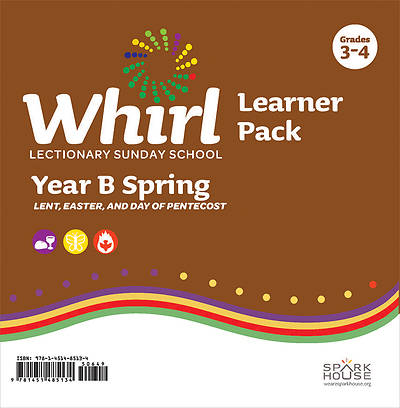 Whirl Lectionary Grades 3-4 Learner Leaflet Spring Year B