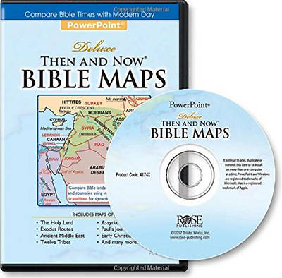 Deluxe Then and Now Bible Maps - PowerPoint
