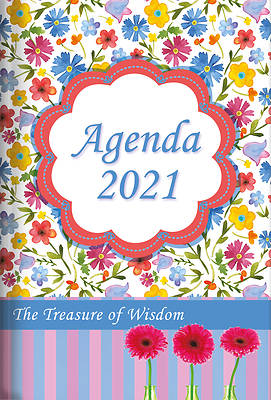 Picture of The Treasure of Wisdom - 2021 Daily Agenda - Watercolor Flowers