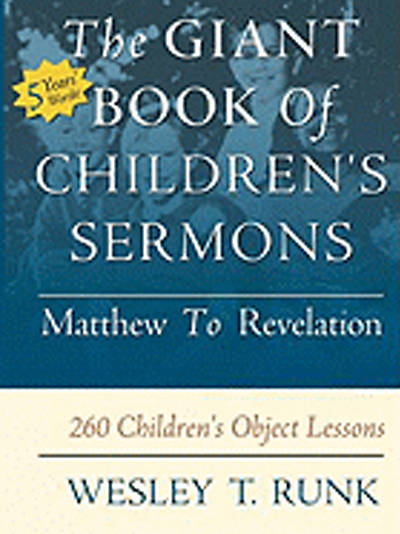 Picture of The Giant Book of Children's Sermons