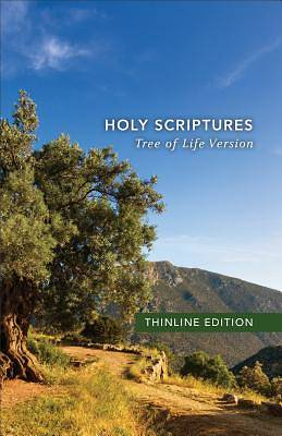 Picture of Tlv Thinline Bible, Holy Scriptures, Hardcover