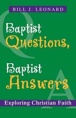 Baptist Questions, Baptist Answers [ePub Ebook]