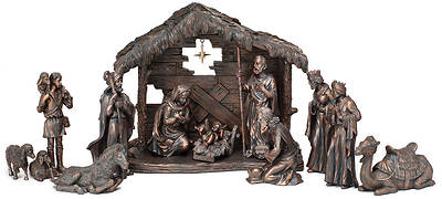 Moments of Faith Full Nativity Set