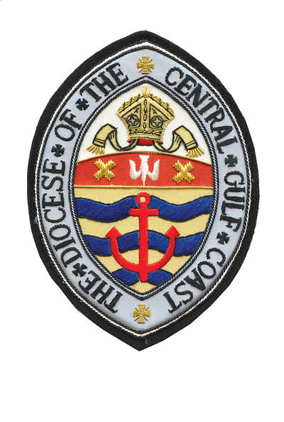 Hand Embroidered Diocesan Seal - Diocese of The Central Gulf Coast
