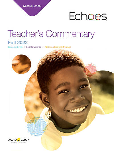 Echoes Middle School Teachers Commentary Fall