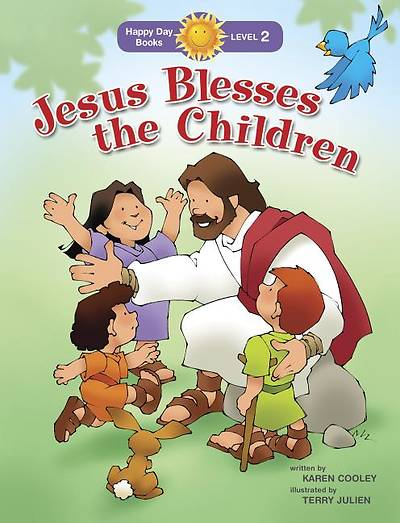 Picture of Jesus Blesses the Children