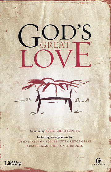 Gods Great Love Accompaniment CD (Split-track)