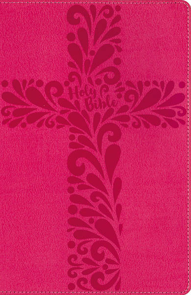 NIV Bible for Kids, Large Print, Imitation Leather, Pink