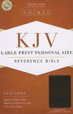 Picture of Large Print Personal Size Reference Bible-KJV