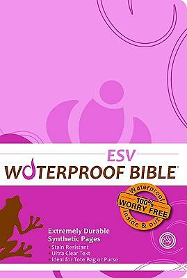 Waterproof Bible - ESV - Pink