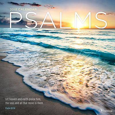 Picture of Psalms 2018 Wall Calendar