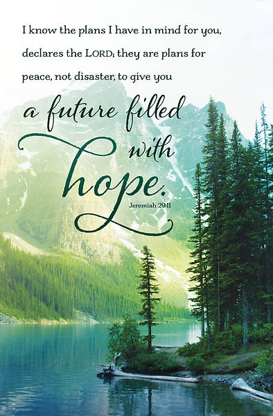 Picture of A Future Filled with Hope General Bulletin (Pkg of 50)