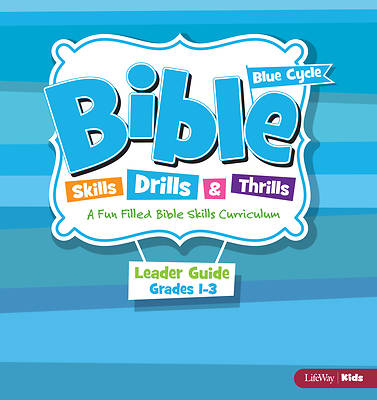 Picture of Bible Skills Drills & Thrills Grades 1-3 Blue Cycle Leader Kit