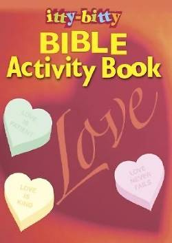 Picture of Love Itty-Bitty Activity Book (Package of 6)