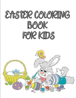 Picture of Easter coloring book for kids