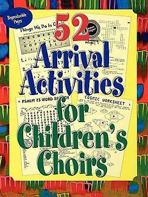 Picture of 52 Arrival Activities for Childrens Choir