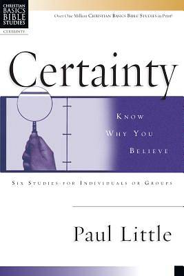 Picture of Certainty