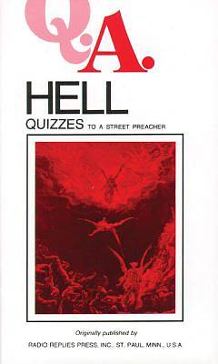 Picture of Hell Quizzes to a Street Preacher