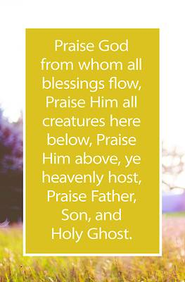 Picture of Praise God Bulletin (Pkg 100) General Worship