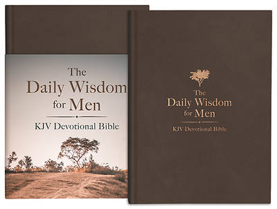 Picture of The Daily Wisdom for Men KJV Devotional Bible