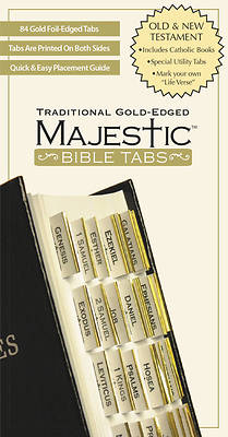Picture of Majestic Traditional Gold-Edged Tabs