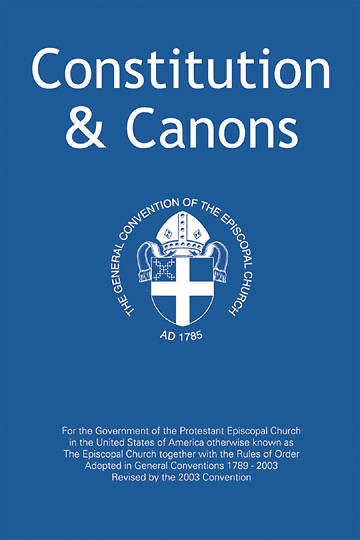 Constitution and Canons 2003